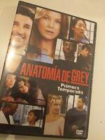 Dvd Anatomia de grey primera temporada(solo capitulo 1 al 5)  english ,spanish