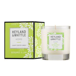 Heyland & Whittle Home Candle - Bergamot & Lime