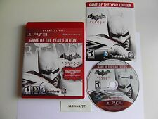 Batman: Arkham City Game of the Year Edition (Sony PlayStation 3, 2012) Great Co