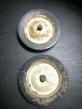 "Vintage Ariens MTD Yard Man Front Tine Tiller 10"" X 1.75"" Solid Wheel Set"