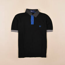 Fred Perry Junge Kinder Polo Poloshirt Shirt Gr.164 Cotton Pique Schwarz 74378