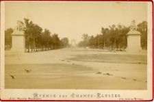 Maison Martinet, France, Paris, Avenue des Champs Elysées, ca.1880, vintage albu