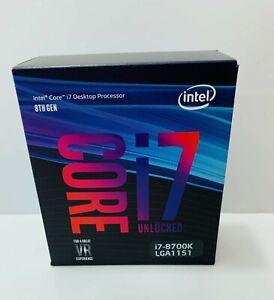 Intel Core i7-8700K 3.70GHz, Coffee Lake, 95W, LGA 1151 Processor
