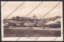 BRESCIA LONATO DEL GARDA 13 FERROVIA - TRENO Cartolina VIAGGIATA 1922