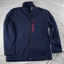Snozu Performance Mens M Medium Jacket Fleece Zip Up Blue