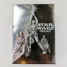 STAR WARS DVD ORIGINAL TRILOGY 4-DISC BOX SET = IV V VI 2006 REMASTERED