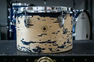 1960s Ludwig 8x12 Blue Duco Concert Tom