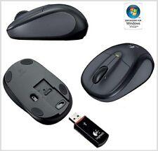 Logitech V220 Optische Maus for Notebooks schnurlos USB
