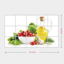 Kitchen Wall Decal Oil Proof Removable Wall Stickers Home Anti Oil Decor D5C