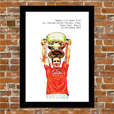 ARMAGH GAA - ALL IRELAND FOOTBALL CHAMPIONS 2002 - FRAMED ART PRINT.