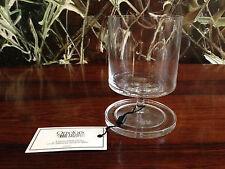 ORREFORS Sweden - Karl Lagerfeld - Soft Drinkglas mit Untersetzer - NEUWARE!!!