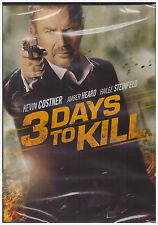 3 DAYS TO A KILL (DVD, 2014) NEW