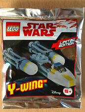 LEGO SET star wars POLYBAG FIGURINE MINIFIG NEUF VAISSEAU Y-WING Y WING RESIST