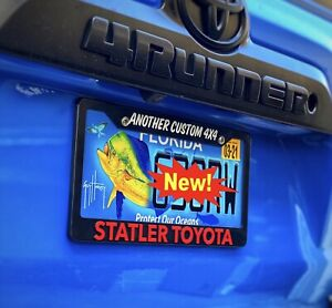 Statler Toyota License Plate Frame Back To The Future