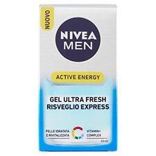 Nivea Formen Caring Skin Energy Gel Viso 50ml Bellezza 4005808317547 (50s)