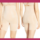 New Spanx Oncore High Waist Mid Thigh Shaper Nude Sz Small  2798