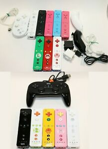 GENUINE NINTENDO BRAND WII WII U MOTION PLUS CONTROLLER NUNCHUCK ACCESSORIES