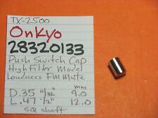 Onkyo 28320133 Push Cap Knob Filtermodus laut FM Mute tx-8500 tx-4500 tx-2500