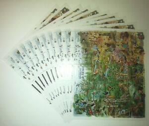 10X Mexico 1996 Animals of Mexico ** MNH complete set (10 Sheets) 260,0 €