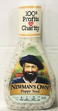 Newman's Own Poppy Seed Salad Dressing Newmans 16 oz