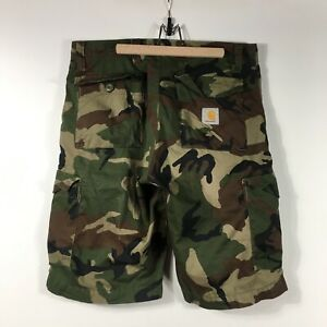 Men's Carhartt Shorts Cargo Casual Green / Olive Size - 33