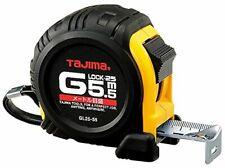 TAJIMA Tape Measure G-5.5MBW 5.5m tape with Metric Scale & Acrylic Coated Blade