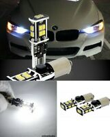 2x LED H6W 433 Canbus White 5x5050SMD To Fit Side Light Citroen C4 Grand Picasso