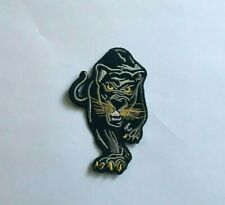 Black Panther Patch Embroidered Patch Martial Arts Uniform Iron On Patch-4.25""