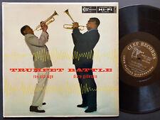 ROY ELDRIDGE DIZZY GILLESPIE Trumpet Battle LP CLEF MGC730 DG MONO Ray Brown