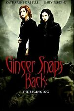 Ginger Snaps Back: The Beginning (2004, DVD NEW) WS