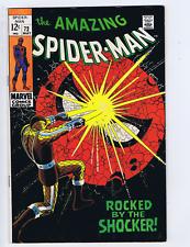 Amazing Spider-Man #72 Marvel 1969 Rocked by the Shocker !