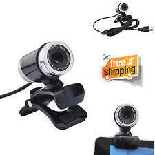 Web Camera HD USB Cam PC With Microphone Gaming Webcam Computer Security Skype