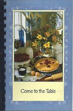 *ROCKY RIVER OH 2009 UNITED METHODIST CHURCH COOK BOOK *COME TO THE TABLE *OHIO