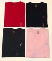 New Polo Ralph Lauren Mens T Shirt VNECK Tee PONY V NECK SMALL