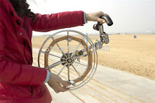 stainless steel strap round kite reel shipping special choice for large kite