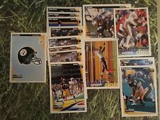 PITTSBURGH STEELERS 1997 COLLECTORS CHOICE TEAM SET 14 CARDS BETTIS LLOYD LAKE