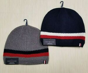 TOMMY HILFIGER MEN'S LINED FASHION BEANIE HAT ONE-SIZE