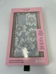 kate spade NY Protective Hardshell Case Galaxy Note20 Ultra 5G Hollyhock clear