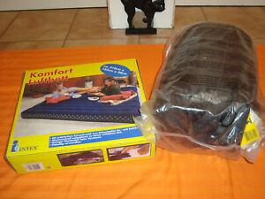 Intex Komfort Luftbett 210x183x20cm NEU + Maranello Schlafsack 200x83cm NEU Bett