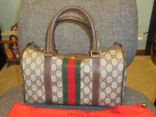 GUCCI Vintage Boston Doctor Speedy Purse Top Handle Handbag  GG-Authentic