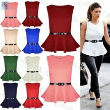 Unbranded Sleeveless Dresses for Women with Peplum