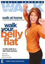 A6 BRAND NEW SEALED Leslie Sansone Just Walk - Walk Your Belly Flat (DVD, 2012)