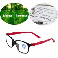 Unisex Elders Bifocal Reading Glasses +1.00~+4.0 Diopter Eyeglasses Vision Care