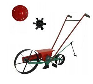 Sämaschine Handsämaschine einreihige Drillmaschine Dippelmaschine Samen 1,5-18mm