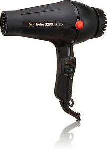 Turbo Power Professional Dryer Twin Turbo 3200 Black