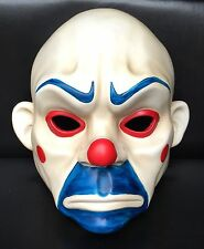 Joker Bank Robber Mask Clown Batman Dark Knight Cosplay Halloween Costume