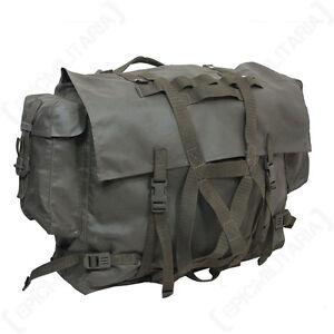 Original Swiss Army Rucksack - Surplus Backpack Bag Military Water Resistant