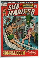 Marvel Comics  The Sub-Mariner #51 July 72 Prince Byrrah Armageddon VF-