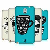 HEAD CASE DESIGNS COFFEE FIX SOFT GEL CASE FOR SAMSUNG PHONES 2