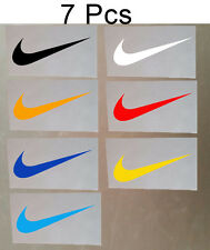 "7 Pcs Nike Iron On Heat Press Nike Patch Sports Logo Diy T Shirt Sport 1.2""*3.7"""
